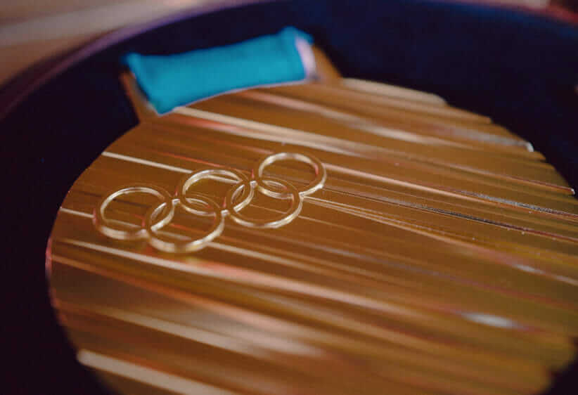 Recycled metal turned into Olympic medal