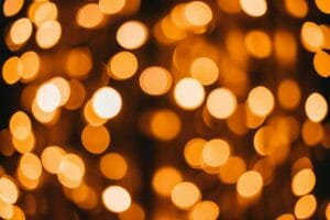 photo of abstract lights with bokeh effect