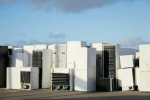 Old fridges to be recycled