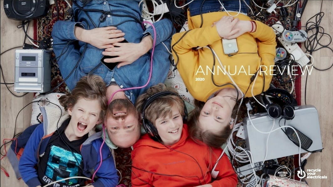 Materia Focus annual review cover 2020