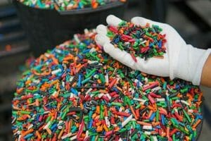 cable plastics being recycled