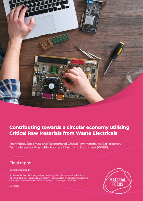 Cover for Critical Raw Materials Report