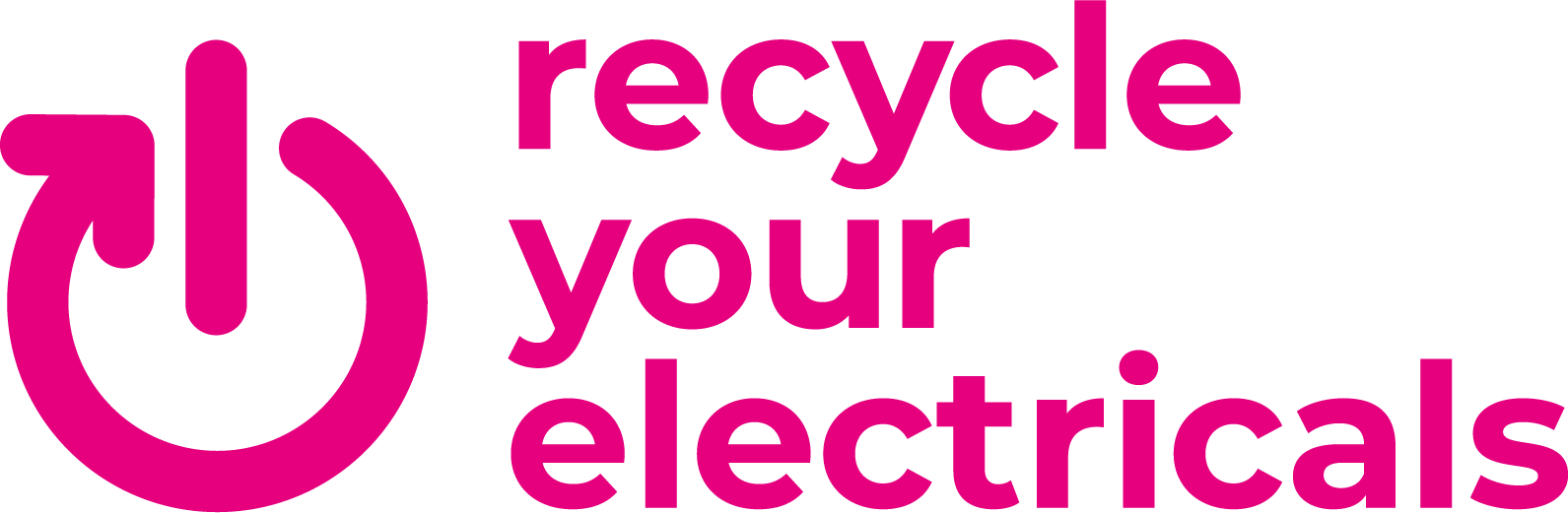 Recycle Your Electricals campaign logo