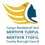 logo of Merthyr Tydfil Borough Council - a Recycle Your Electricals partner
