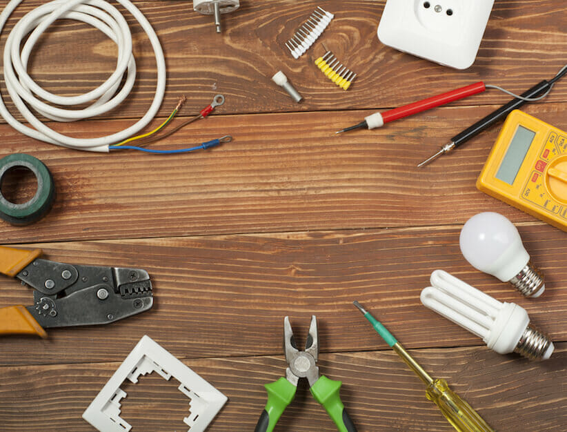 tools nd electrical components